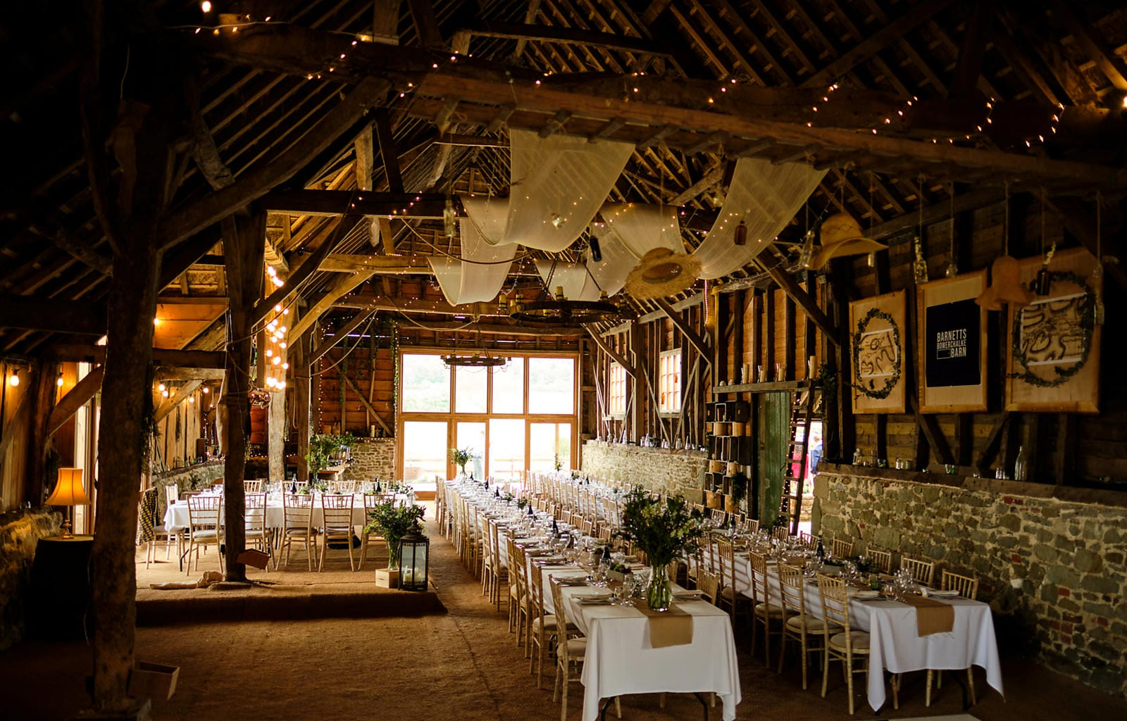 Wedding Private Hire Barn In Wiltshire Bowerchalke Barn